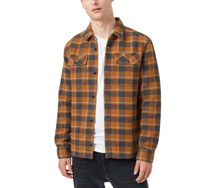 Heavy Weight Flannel Shirt Tops Ten Tree