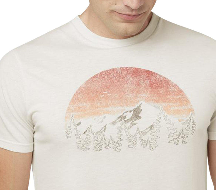 Vintage Sunset Classic T-Shirt - Elm White Heather Tops Ten Tree
