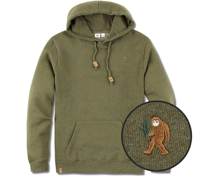 Sasquatch Classic Hoodie Outerwear Ten Tree Olive Night Green Heather M