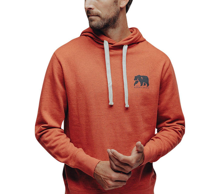 Clay Fleece Hoodie Outerwear The Normal Brand