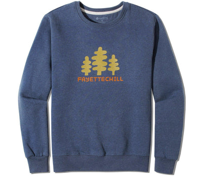 Tres Pinon Pullover - Glass Blue Outerwear Fayettechill Glass Blue S