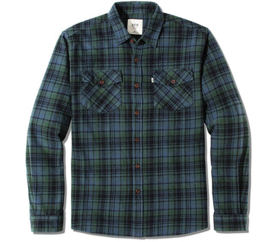 Fred Flannel - Baltic Blue Tops Katin Baltic Blue S