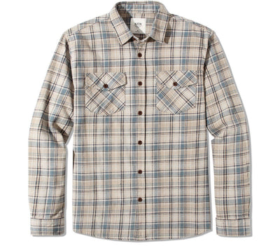 Fred Flannel - Light Gray Tops Katin Light Gray S