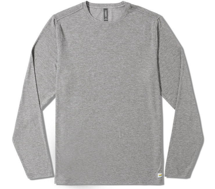 Strato Tech Long Sleeve Tee - Grey Tops Vuori Grey M