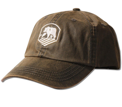 Waxed Activewear Cap Headwear The Normal Brand Brown