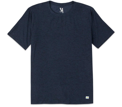 'Strato' Athletic Tech Tee Tops Vuori Heather Navy S