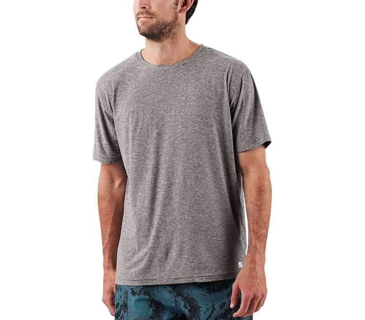 'Strato' Athletic Tech Tee Tops Vuori Heather Grey S