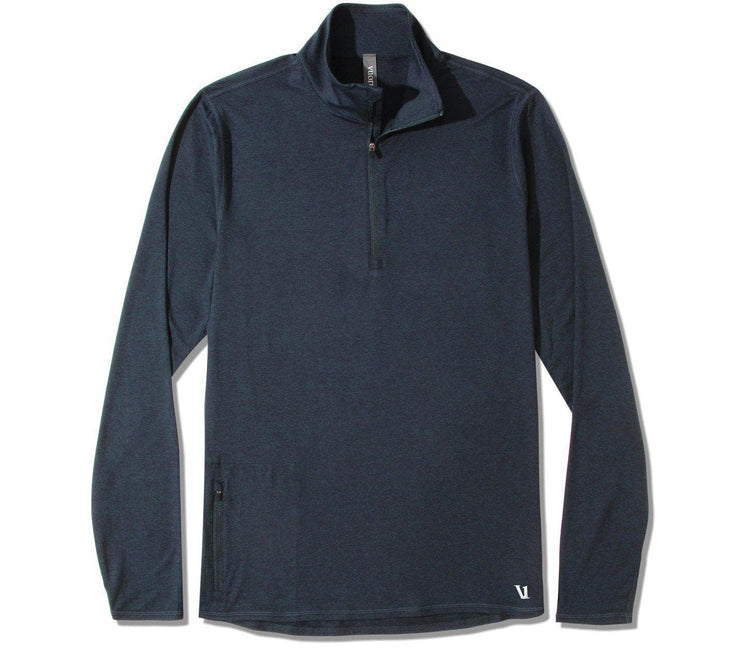 Ease Performance 1/2 Zip - Ink Heather Tops Vuori Ink Heather M