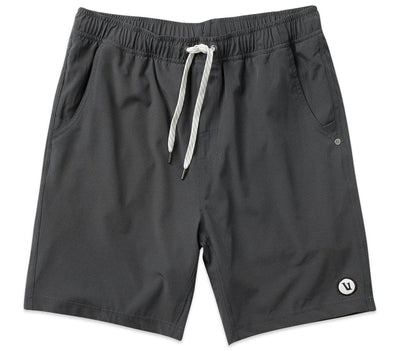 "Kore Athletic Shorts - 8"" Inseam Bottoms Vuori Charcoal S"