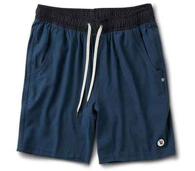 "Kore Athletic Shorts - 7.5"" Inseam Bottoms Vuori Indigo S"