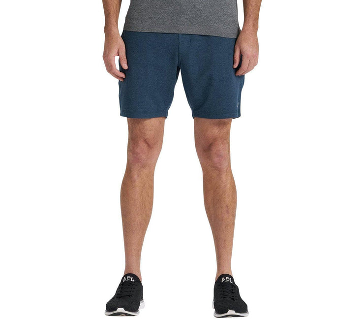 Ponto Jersey Short - Indigo Heather Bottoms Vuori