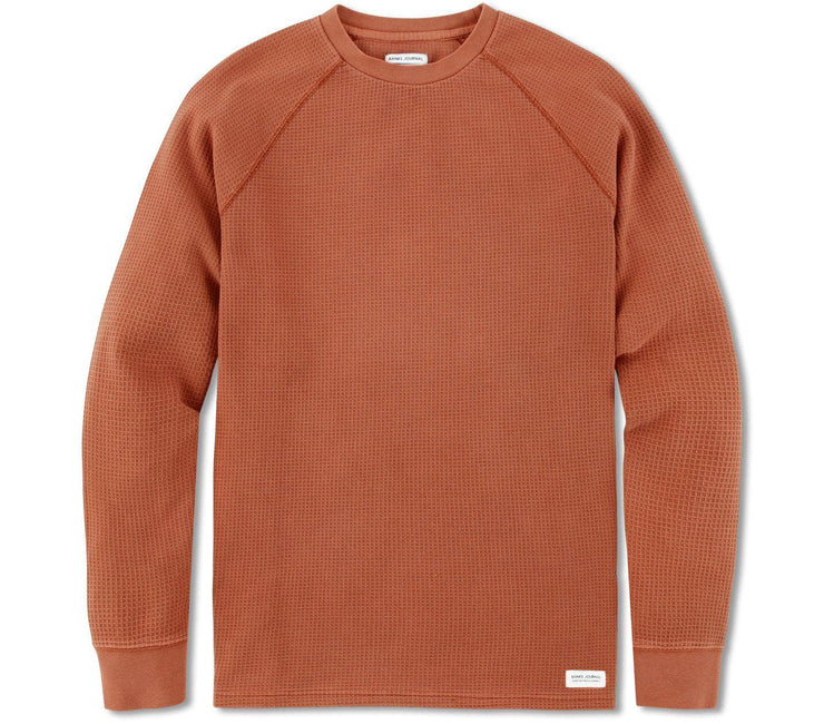 Preston Transseasonal Fleece Shirt - Baked Clay Tops Banks Journal Baked Clay S
