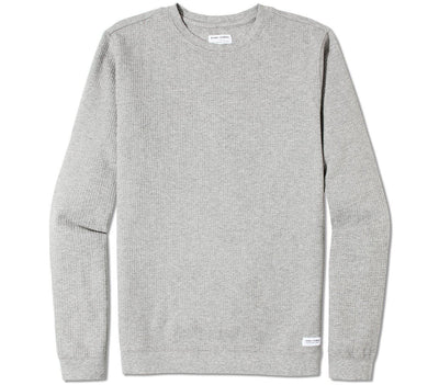 Preston Transeasonal Fleece Crew - Heather Grey Tops Banks Journal Heather Grey S