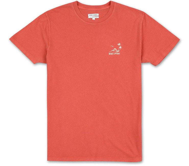 Cape Breeze Tee - Burnt Red Tops Banks Journal