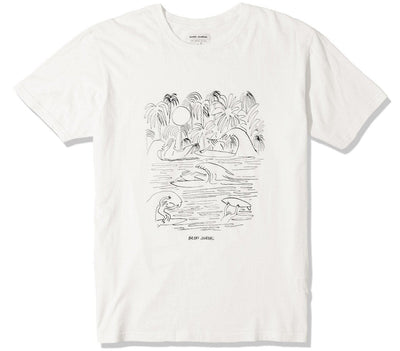 Agua Breeze Tee Tops Banks Journal Off White S