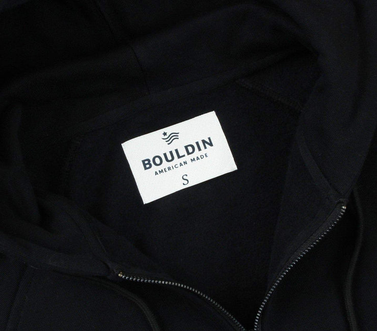 The Go-To Hoodie - Made in USA (Full-Zip) Outerwear BOULDIN