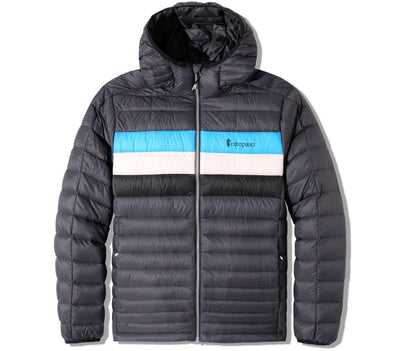 Fuego Hooded Jacket - Graphite Stripes Outerwear Cotopaxi Graphite Stripes S
