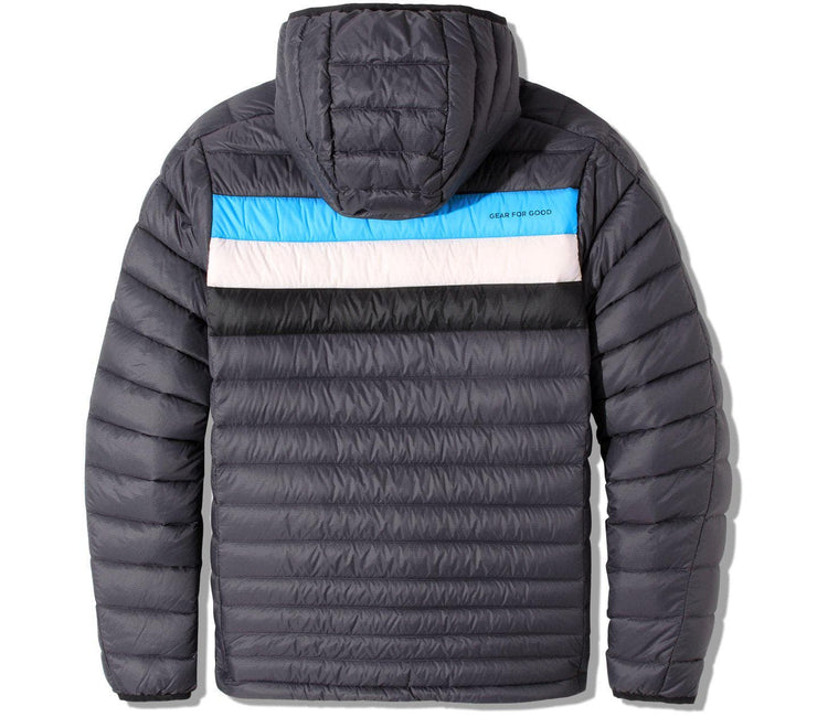 Fuego Hooded Jacket - Graphite Stripes Outerwear Cotopaxi