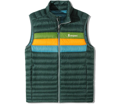 Fuego Vest - Dark Forest Stripes Outerwear Cotopaxi Dark Forest Stripes S