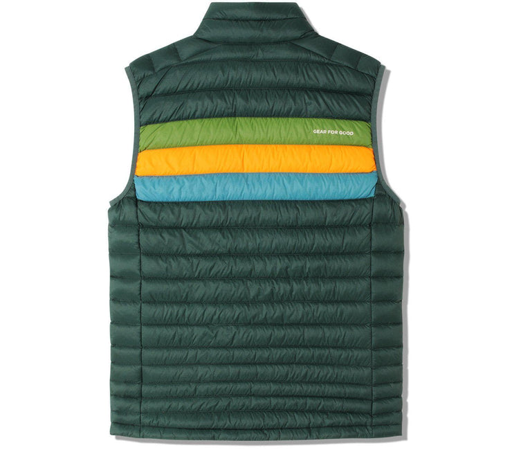 Fuego Vest - Dark Forest Stripes Outerwear Cotopaxi