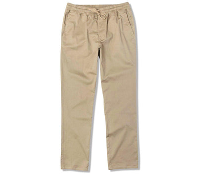 Weekend Elastic Pant - Wood Bottoms RVCA Wood S