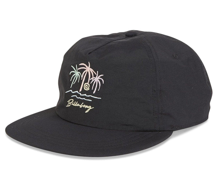 Breezey Hat Headwear Billabong Black