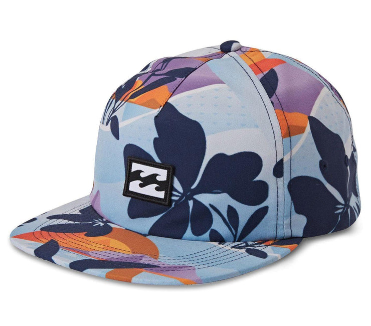 Platform Print Hat - Navy Headwear Billabong Navy