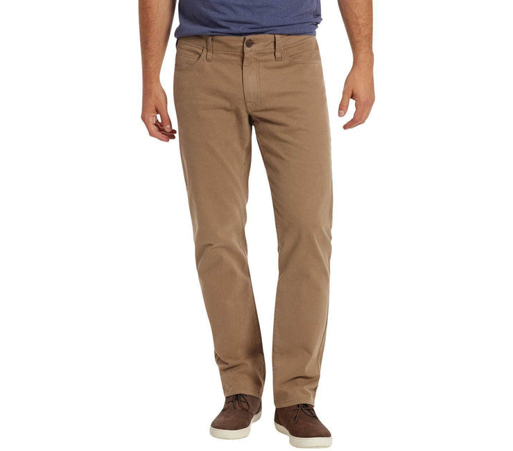 Wallburg Chino Pant Slim Fit - Khaki Bottoms Flag & Anthem