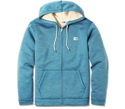 Sherpa Patrol Full-Zip Hoodie - Mallard Blue Outerwear The North Face Mallard Blue S