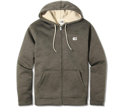 Sherpa Patrol Full-Zip Hoodie - New Taupe Green Outerwear The North Face New Taupe Green S