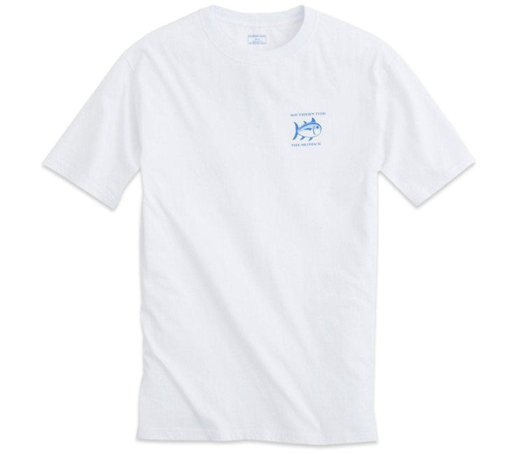 Original Skipjack Short Sleeve T-Shirt - White Tops Southern Tide