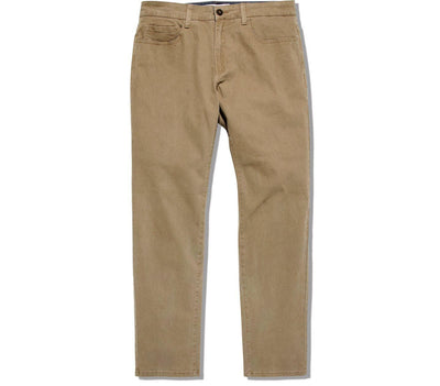 Wallburg Chino Pant Slim Fit - Khaki Bottoms Flag & Anthem Khaki 30 30