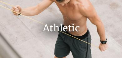 athletic performance stretch wicking