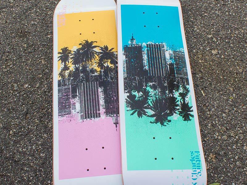 Shape Maple Future Skateboards JN Charles Contrast