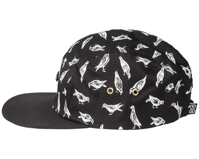 bone 5 panel future pombaral preto perfil
