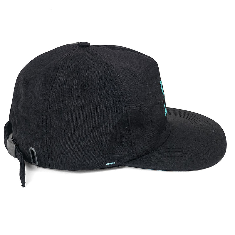 Bone Strapback Future Skateboards Timeless Preto Perfil