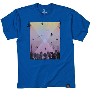 Camiseta Future Skyline Azul Royal
