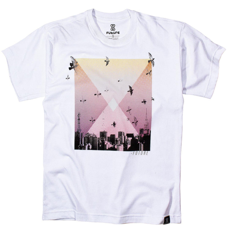Camiseta Future Skyline Branca