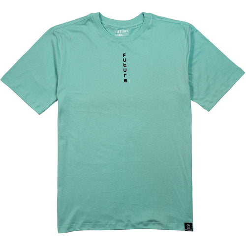 camiseta skate future texturized verde frente