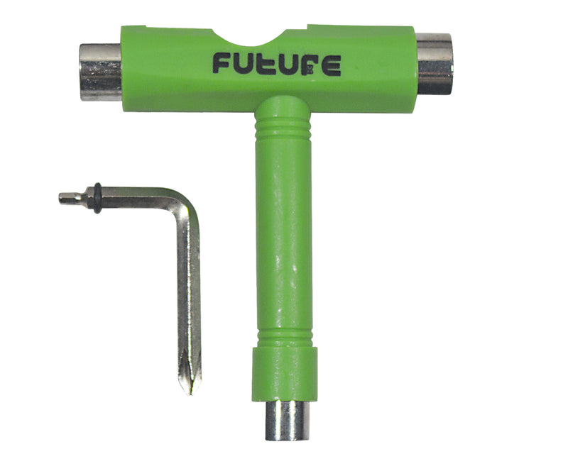 Chave Skate T-tool verde