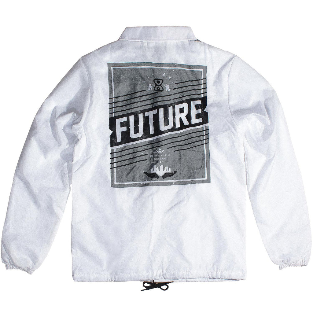 Jaqueta Future Kingdom Branca Costas
