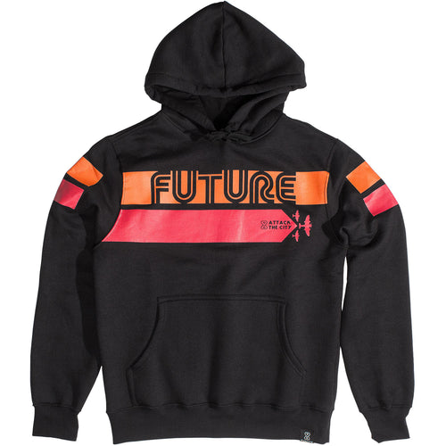 Moletom Future Attack Preto
