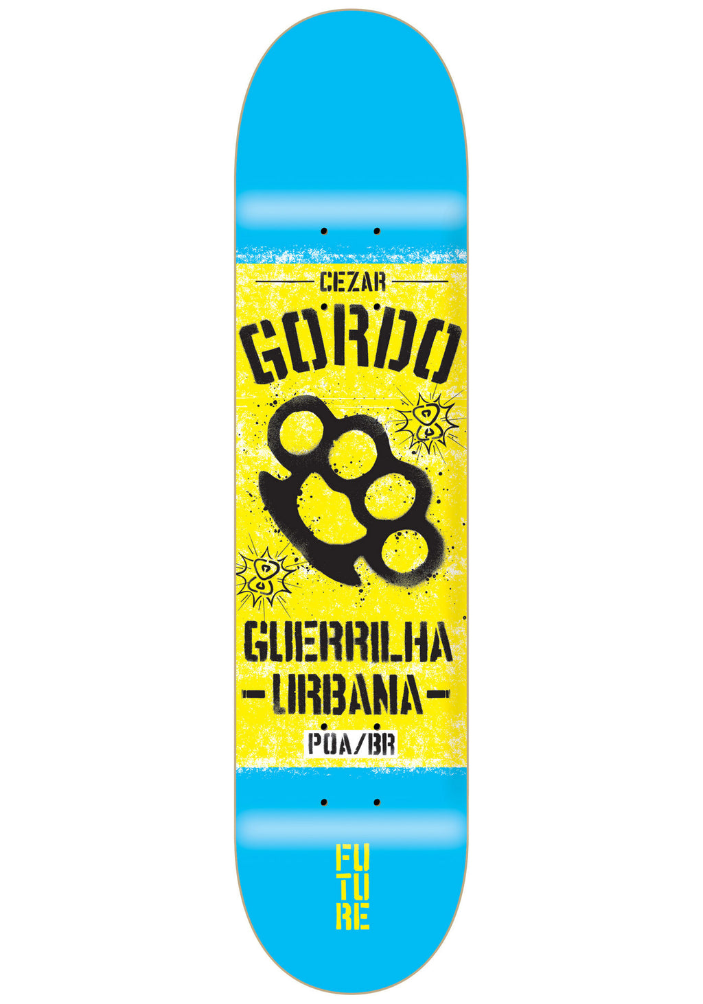 Shape Maple Future Guerrilha Cezar Gordo 8.0''