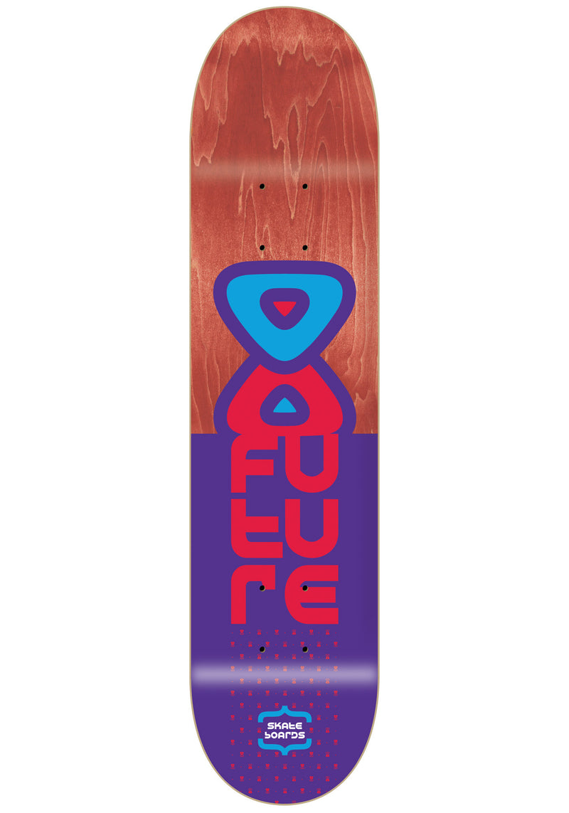 Shape Maple Future Logo vertical Purple 7.875''