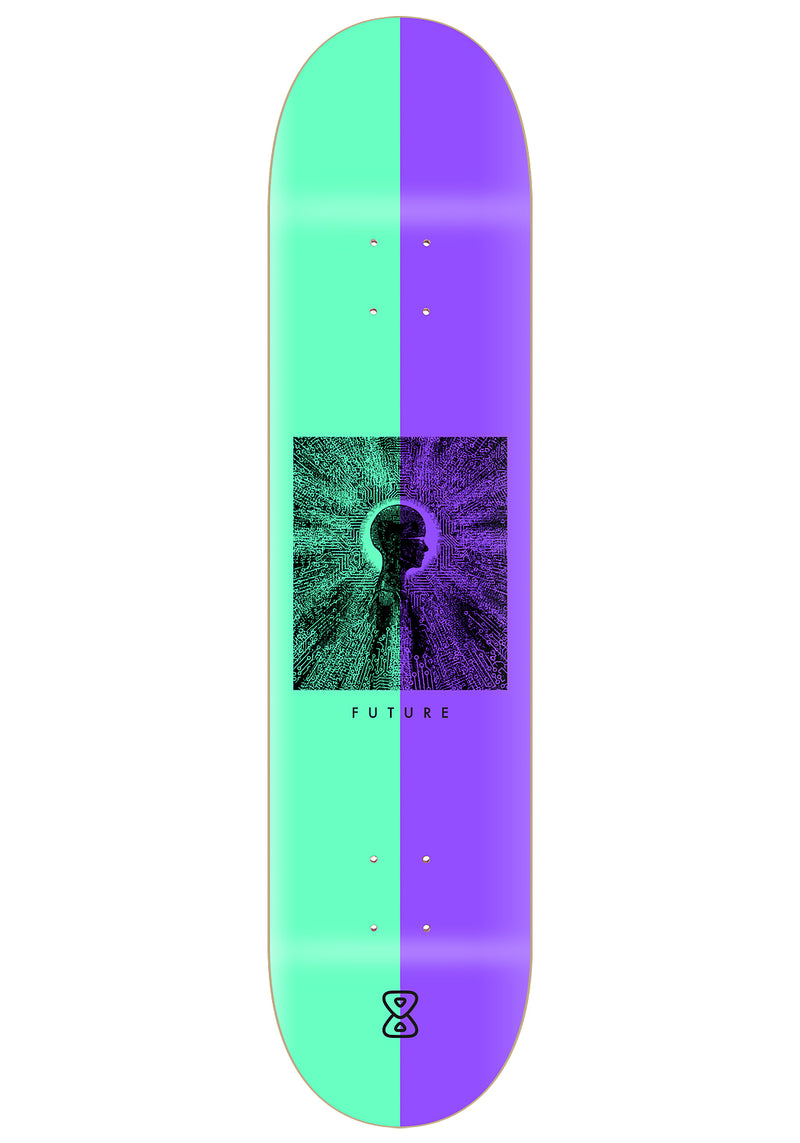 Shape Marfim Future Skateboards Mind 8.25""