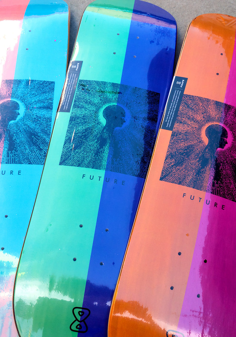 "Série Shape Marfim Future Skateboards Mind 8.0"" 8.1"" 8.25"" Close"