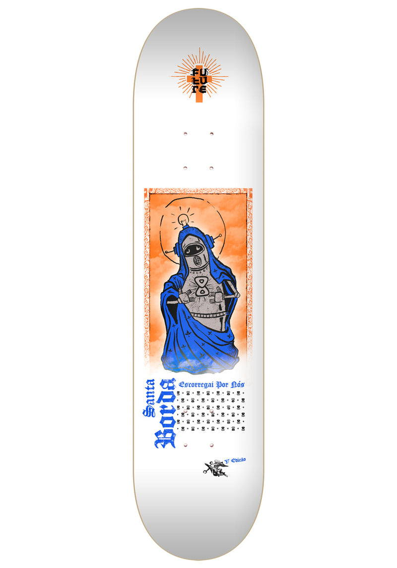 Shape Marfim Future Skateboards Santa Borda 5 8.25""