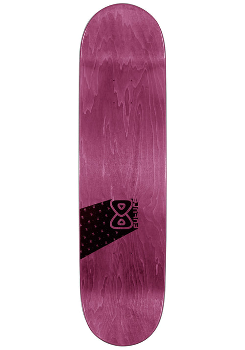 Shape Maple Future Logo vertical Purple 7.875'' Top