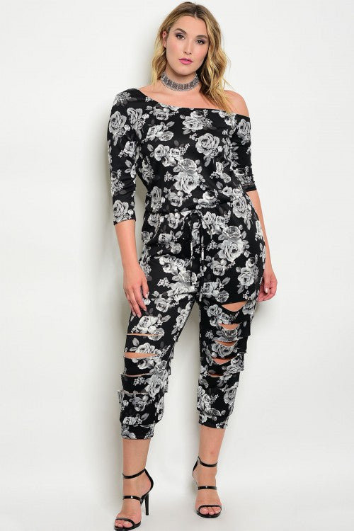 Plus Size Rosey Jumpsuit