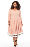 Onyx Plus Size dress